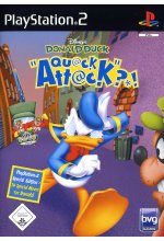 Donald Duck - Quack Attack Cover