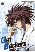 Get Backers Vol.1 - Episoden  1-10  [2 DVDs] DVD-Cover