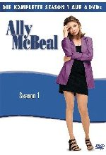 Ally McBeal - Season 1  [6 DVDs] DVD-Cover