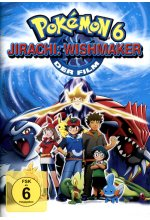 Pokemon 6 - Jirachi: Wishmaker DVD-Cover