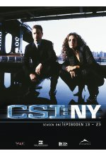 CSI: NY - Season 1/Box-Set 2  [3 DVDs] DVD-Cover