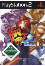 Fatal Fury Battle Archive Vol. 1 Cover