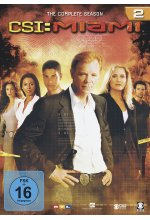 CSI: Miami - Season 2  [6 DVDs] DVD-Cover