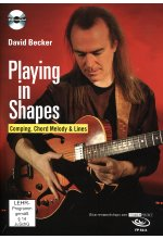 David Becker - Playing in Shapes: Comping, Chord Melody & Lines/Gitarrenworkshop (+ Noten-/Tabulaturenbuch)