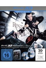 Resident Evil: Afterlife - Premium Edition  (+ Blu-ray) Blu-ray 3D-Cover
