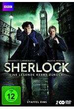 Sherlock - Staffel 1  [2 DVDs] DVD-Cover