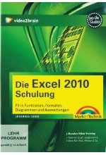 Die Excel 2010-Schulung - Video-Training (PC+MAC+Linux) Cover