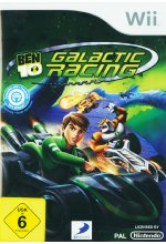 Ben 10 - Galactic Racing Cover