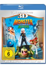 Monster und Aliens  (+ Blu-ray) Blu-ray 3D-Cover