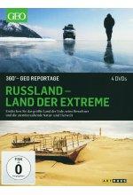 Russland - Land der Extreme / 360° - Geo Reportage [4 DVDs]