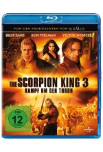 The Scorpion King 3 - Kampf um den Thron Blu-ray-Cover