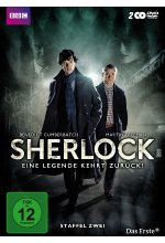 Sherlock - Staffel 2  [2 DVDs] DVD-Cover
