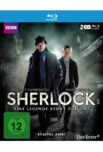 Sherlock - Staffel 2  [2 BRs] Blu-ray-Cover