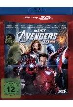 Marvel's The Avengers Blu-ray 3D-Cover