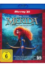 Merida - Legende der Highlands Blu-ray 3D-Cover