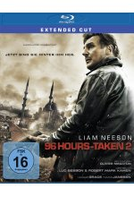 96 Hours - Taken 2 - Extended Cut Blu-ray-Cover
