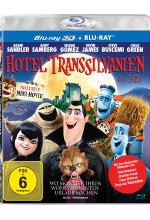 Hotel Transsilvanien  (+ Blu-ray) Blu-ray 3D-Cover
