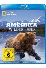 Amerika - Wildes Land  - National Geographic Blu-ray-Cover