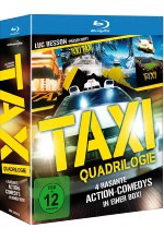 Taxi - Teil 1-4 Box  [4 BRs] Blu-ray-Cover
