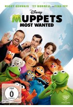 Muppets Most Wanted DVD-Cover