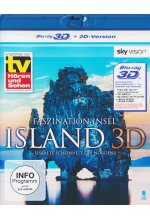 Faszination Insel - Island  (inkl.2D-Version) Blu-ray 3D-Cover