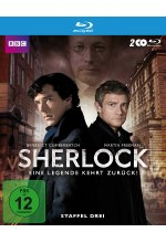 Sherlock - Staffel 3  [2 BRs] Blu-ray-Cover