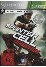 Splinter Cell - Conviction (Tom Clancy) Cover