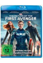 The Return of the First Avenger Blu-ray-Cover