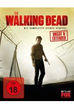 The Walking Dead - Die komplette vierte Staffel - Uncut/Extended  [5 BRs] Blu-ray-Cover