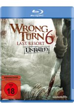 Wrong Turn 6 - Last Resort - Unrated Blu-ray-Cover