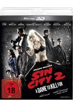 Sin City 2 - A Dame To Kill For Blu-ray 3D-Cover