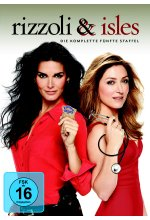 Rizzoli & Isles - Staffel 5  [4 DVDs] DVD-Cover