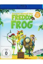 Freddy Frog - Ein ganz normaler Held  (inkl. 2D-Version) Blu-ray 3D-Cover