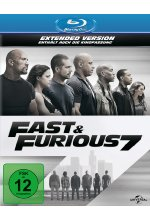 Fast & Furious 7 - Extended Version Blu-ray-Cover