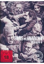 Sons of Anarchy - Season 6  [5 DVDs] DVD-Cover