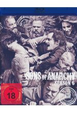 Sons of Anarchy - Season 6  [4 BRs] Blu-ray-Cover