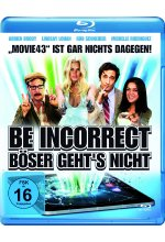 Be Incorrect - Böser geht's nicht Blu-ray-Cover