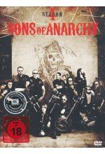 Sons of Anarchy - Season 4  [4 DVDs] DVD-Cover