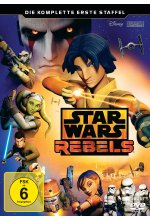 Star Wars Rebels - Die komplette erste Staffel  [3 DVDs] DVD-Cover