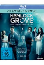 Hemlock Grove - Das Monster in Dir - Die komplette Staffel 1 [3 BRs]