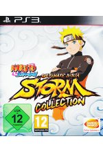 Naruto Shippuden Ultimate Ninja Storm Collection (1 + 2 + 3 Full Burst) Cover