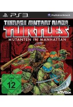 Teenage Mutant Ninja Turtles - Mutanten in Manhattan Cover