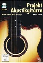 Rainer Mafra - Projekt Akustikgitarre/Gitarre lernen leicht gemacht Band 2 (+ Noten-/Tabulaturenbuch)