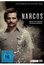 Narcos - Staffel 1  [4 DVDs] DVD-Cover