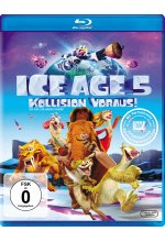 Ice Age 5 - Kollision voraus! Blu-ray-Cover