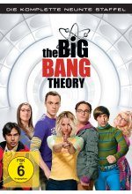 The Big Bang Theory - Staffel 9  [3 DVDs] DVD-Cover