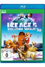 Ice Age 5 - Kollision voraus! Blu-ray 3D-Cover