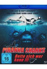 Piranha Sharks Blu-ray-Cover