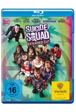 Suicide Squad - Extended Cut Blu-ray-Cover