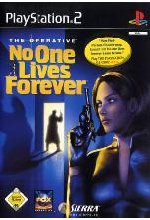 No One Lives Forever - The Operative Cover